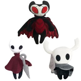 Wholesale ghost video game online – design Hot Game Hollow Knight Plush Toy Figure Ghost Plush Stuffed Animal Doll Kids Toy for Children Birthday Gift cm