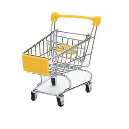 venda por atacado Creative Mini Crianças Handcart Simulação Pássaro Pássaro Papagaio Toy Pequeno Supermercado Carrinho de Compras de Supermercado Play House Brinquedos YYF4459