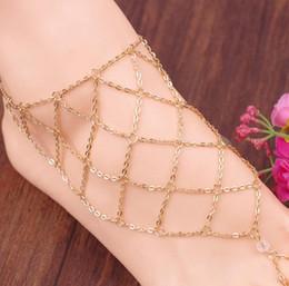Plage Multi Tassel Toe Bague Chaîne Lien Bijoux Bijoux Anklet Chaîne Chaîne Femmes Cadeau Cadeau Fashion Déclaration 2015 Nouvelle arrivée 160243 en Solde