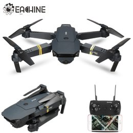 Discount quadcopter eachine Eachine E58 1080P WIFI FPV With Wide Angle HD Camera High Hold Mode Foldable Arm RC Upgrade Amateur Quadcopter RTF 20110