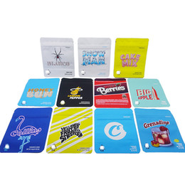 custom printed mylar bags NZ - Mylar Bag Proof With Cookies Smell Bags For Runtz Sticker Bags 3.5g Edibles Storage Food Custom Meuxu