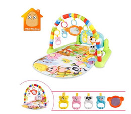 Wholesale Baby Activity Gym Tapis Puzzles Mat Educational Rack Toys Baby Music Play Mat With Piano Keyboard Infant Fitness Carpet Gift For Kids