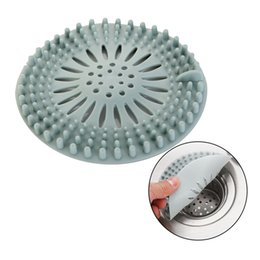 Wholesale Hair Catcher Durable Silicone Hair Stopper Shower Drain Covers Easy to Install and Clean Suit for Bathroom Bathtub and Kitchen