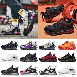 Discount cushioned basketball shoes Newsale fashion mens sneakers running shoes Full palm cushion shock absorption purple black blue red grey split trainers size 40-45