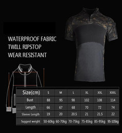 Wholesale tactical shirts for sale – dress Men s Airsoft Tactical Shirts Camping Polo Shirts Men Slim Fit Quick Dry T Shirts Russian Us Army Hunting Tee Shirt Crop Top jllMUJ