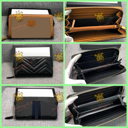 Wholesale print photos resale online - wallets purse womens wallet mens wallets purses Zippy Wallet Long Wallets Fold Card Holder Damier Purse Women Fashion Wallet portafoglio