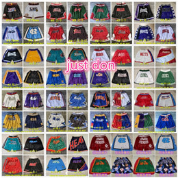basketball-shorts für männer großhandel-Mens Basketball nur Don Pocket Shorts Angeles