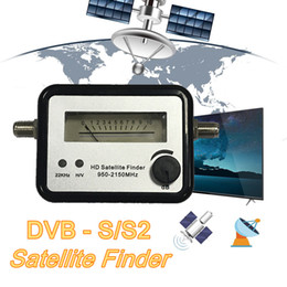 digital satellite finder meter 2021 - DVB-S2 Digital Satellite Finder Meter LNB Digital TV Signal Satfinder For Find Alignment Signal Of Receptor