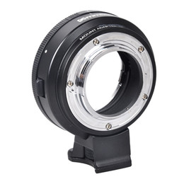 For Nikon AI F lens to Micro 4 3 Adapter Ring with Aperture Dial f  E-P5 GF6 GF7 GF3 G3 on Sale