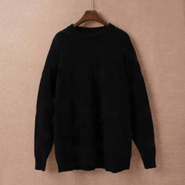 Wholesale cashmere pullover sweaters men for sale – oversize Men Fashion Designer Hoodies New Luxury Letter Knitwear Winter Mens Clothing Crew Neck Long Sleeve Sweaters