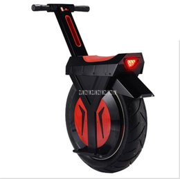 Mileage 30km Electric Unicycle One Wheel Scooter Skateboard 500W Motorcycle Hoverboard Monowheel 17inch Big Single Wheel Scooter