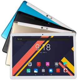 pc tablet 10.1 inch UK - Newest Lonwalk X20 10.1 inch Tablet MT6797 X27 Deca Core 1920*1200 2.5K IPS Screen Dual 4G 6GB RAM 128GB ROM Android Tablet pc