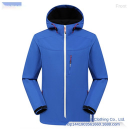 Wholesale si jackets for sale – winter Outdoor spring and autumn Fleece Jacket Soft Shell Warm single coatcoat stormsuit couple men and women warm windproof mountaineering suit si