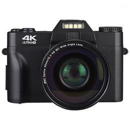 Vente en gros Caméras numériques Professionnel Caméscope Video Caméra 4K UHD pour YouTube WiFi portable portable portable 16x zoom selfie cam1