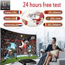 1 an d'abonnement aux programmes télévision Europe programmes pour la boîte de télévision Android M3U