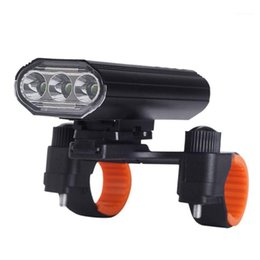 Wholesale bikers resale online - Bike Headlight Super Bright USB Rechargeable Bicycle Front Light for Commuters Road Cyclists Mountain Bikers Highlight1