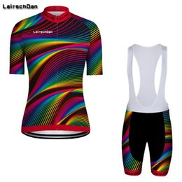 Wholesale Racing Sets Lairschdan Men s Cycling Clothing Summer Clothes Bicycle Outfit Bike Wear Cycle Suit Mtb Kit Maillot Cyclisme Homme
