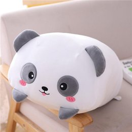baby panda bears Australia - 20cm Kawaii Anime Dinosaur Pig Cat Bear Plush Toy Soft Cartoon Panda Hamster Elephant Deer Stuffed Doll Baby Pillow Gift jllehZ ly_bags