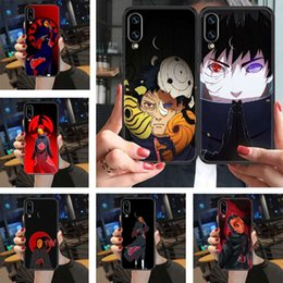naruto games Australia - Naruto Uchiha Obito mobile phone cover Huawei honor 6 7 8 9 10 I 20 C x Lite Pro game black luxury ski sho trend soft coke
