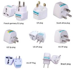 Vente en gros Universal Kr American European European U EU à US UK Power Plug Adapter USA Israël Brésil Adaptateur de voyage Adaptateur de voyage Convertisseur Japon Corée