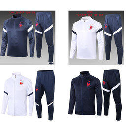 Wholesale jogging suits resale online – 20 Stars Maillot de Foot kids survetement football jogging chandal Equipe de france long sleeve soccer tracksuit training track suit