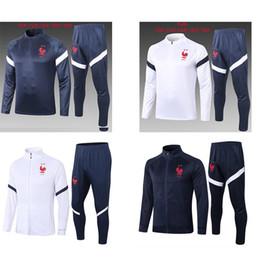 Wholesale jog suits for sale – winter 20 Stars Maillot de Foot kids survetement football jogging chandal Equipe de france long sleeve soccer tracksuit training track suit
