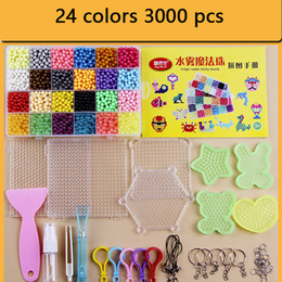 spelling puzzle Australia - 12500pc DIY Magic Beads Set Toys For Children Animal Molds Hand Making Puzzle Kids Educational Toys Boy Girl Spell Replenish Beans