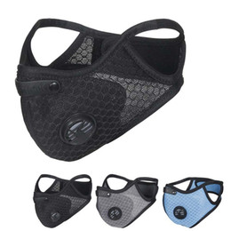Wholesale Wholesale Cycling Face Mask Activated carbon Masks Face Masks Anti-fog Windproof Dust-proof Breathable Sunscreen Outdoor Cycling Face Mask
