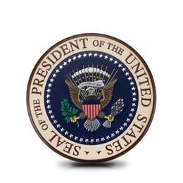 Acessórios Adequado para Cadillac U.S. Presidente Distintivo Adesivos de Carro de Metal Personalizado Adesivos De Metal Carro Decoração Do Corpo Lado Etiqueta Etiqueta da cauda em Promoção