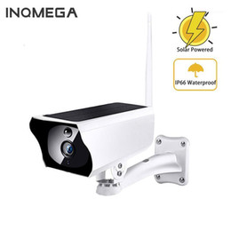 solar powered surveillance cameras NZ - INQMEGA Solar Powered WiFi IP Camera 1080P HD Outdoor Charging Battery Wireless Security Camera PIR Surveillance CCTV1