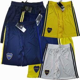 Großhandel 2019 2020 2021 boca juniors Fussball Shorts de Rossi cardona tevez 20 21 Home Away 3. 4. Fußball Sport Shorts Hosen S-2XL