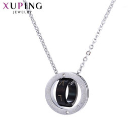 gift deals Australia - 11.11 Deals Xuping Circles Necklaces Stainless Steel Jewelry Fashion Specially Party Gift Woman 443761