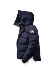 Wholesale canadian goose jacket resale online – new Canadian Winter Mens Bomber Homme Parka Jassen Camouflage Outerwear Hooded Fourrure Manteau Goose Down Jacket Coat Hiver Doudoune