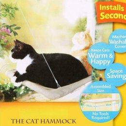 Бесплатная доставка производителей прямых продаж кошка кровать гамака окна окунь сиденье установленная полка 50 фунтов на котенках котенок диван на Распродаже