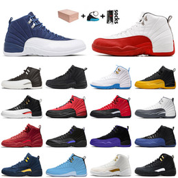 sky cycles 2021 - 12 12s XIII Basketball JUMPMAN Shoes Indigo High Quality Cherry University Blue Gold Dark Concord Reverse Flu Game Men Women Sport Trainers