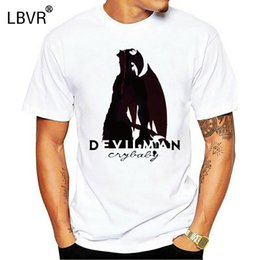 Devilman T-shirt Cry Baby drôle Tops T-shirt