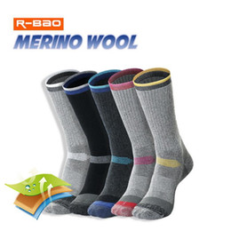 Wholesale thermal socks for men online – funny 2 Pairs Merino Wool Thermal Socks For Men Women Winter Keep Warm Ski Hiking Socks Sports Outdoor Thermosocks Thicken M L XL