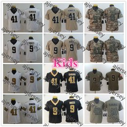 green camo jersey UK - Youth 2020 Inverted Legend New Orleans