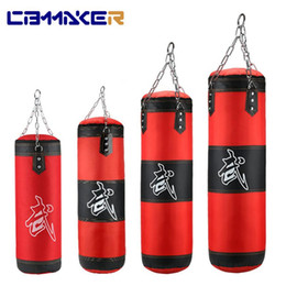 Boxeo profesional Bolsa de perforación Entrenamiento Fitness con patada colgante Sandbag Adultos Gimnasio Ejercicio Ejercicio de boxeo vacío en venta