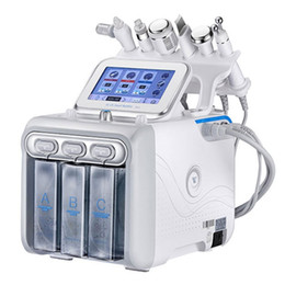 Wholesale Hydrafacial Machine BIO RF Cold Hammer Water Hydro Dermabrasion 6 in 1 Hydra Peel Facial Skin Cleaning Microdermabrasion Machine