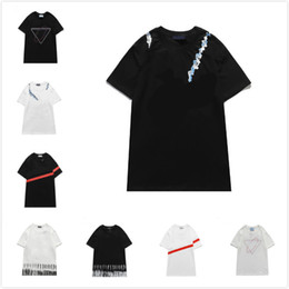 Wholesale womens streetwear fashion resale online - Mens New T Shirts Mens Fashion Print Short Sleeve Womens Casual Tee Youth Fashion Streetwear Trendy T Shirts Top Quality Shorts