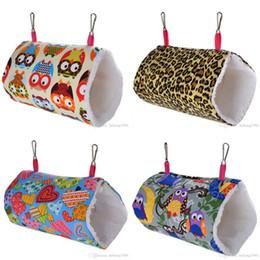 Pet Tunnel Toys Love Heart Camo Printed Canvas Hang Cave Comforable Mini Hammock Hamster Hedgehog Rat 9 9wc G2 on Sale