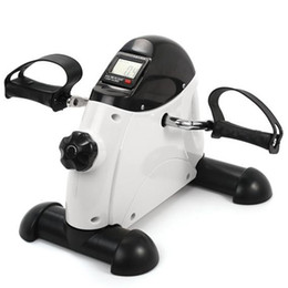 Discount mini stepper Pedal exercise bike mini Bike home fitness LCD display multi-function indoor cycling stepper mini air pressure