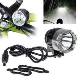 Ingrosso CREE XML T6 1800lumen LED Bike luce della bicicletta del faro 3Modes bici della luce anteriore della bicicletta della lampada del faro confezione con pacco batteria Caricare