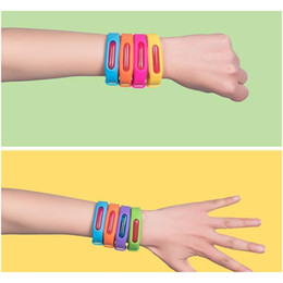 Mosquito Repellent Bracelet Plant Essential Oil Sile Mosquito Bracelet Infant Anti-mosquito Formula Child Adult jllvoi lucky2005 on Sale