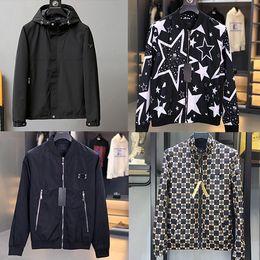 Wholesale flower jackets resale online – NEW Embroidery Men Jacket Coat Man Leisure business Brand letters Hip Hop Streetwear Men Jacket Coat Clothes winter Sping M XL