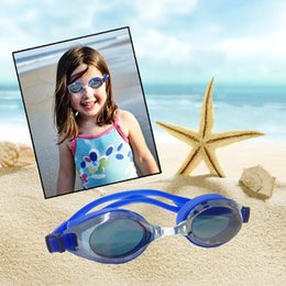 Discount kids toy eyeglasses Swim Uv protection Glasses Male Female Electroplating Goggles Sport Adjustable Kids Swimming Frame Pool Eyeglasses Water