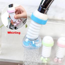 360 Grad-justierbarer Wasserhahn Extension Filter Dusche Wasserhahn Badezimmer-Hahn-Extender Home Küchenzubehör GGE1874 im Angebot