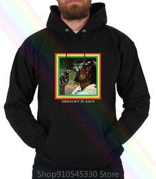 Wholesale nurse hoodie online – oversize Gregory Isaacs Hoodie Sweatshirtscool Ruler Night Nurse Jamaica Dub Roots Reggae Women MenX1014