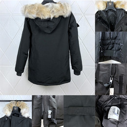 Wholesale big hooded jacket mens for sale - Group buy 2020 Mens Designer Down Parkas Winter Coats Brands Outerwear Hooded Windbreaker big fur Down Jackets Manteau Hiver doudoune homme